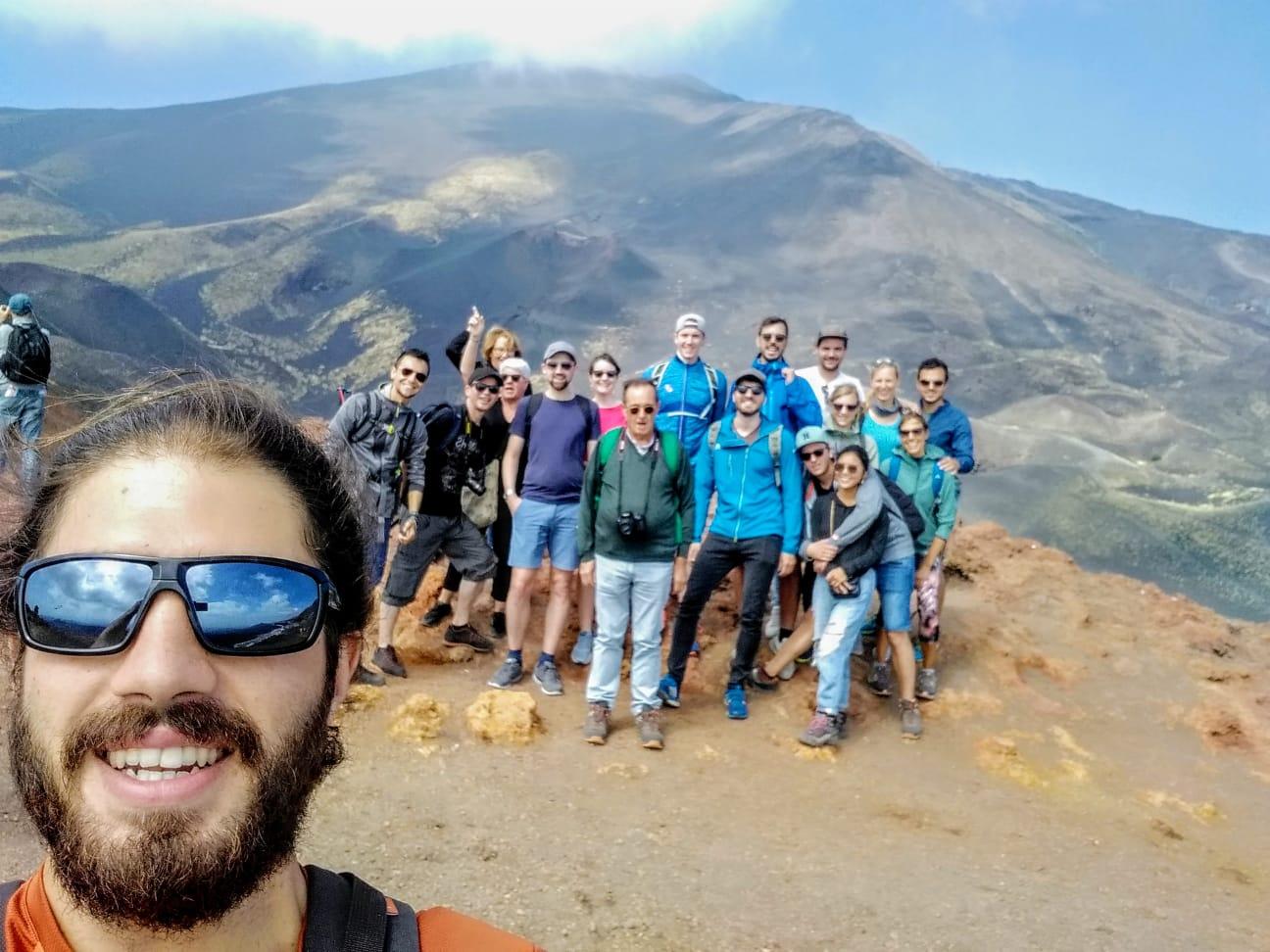 Etna hiking from Catania
