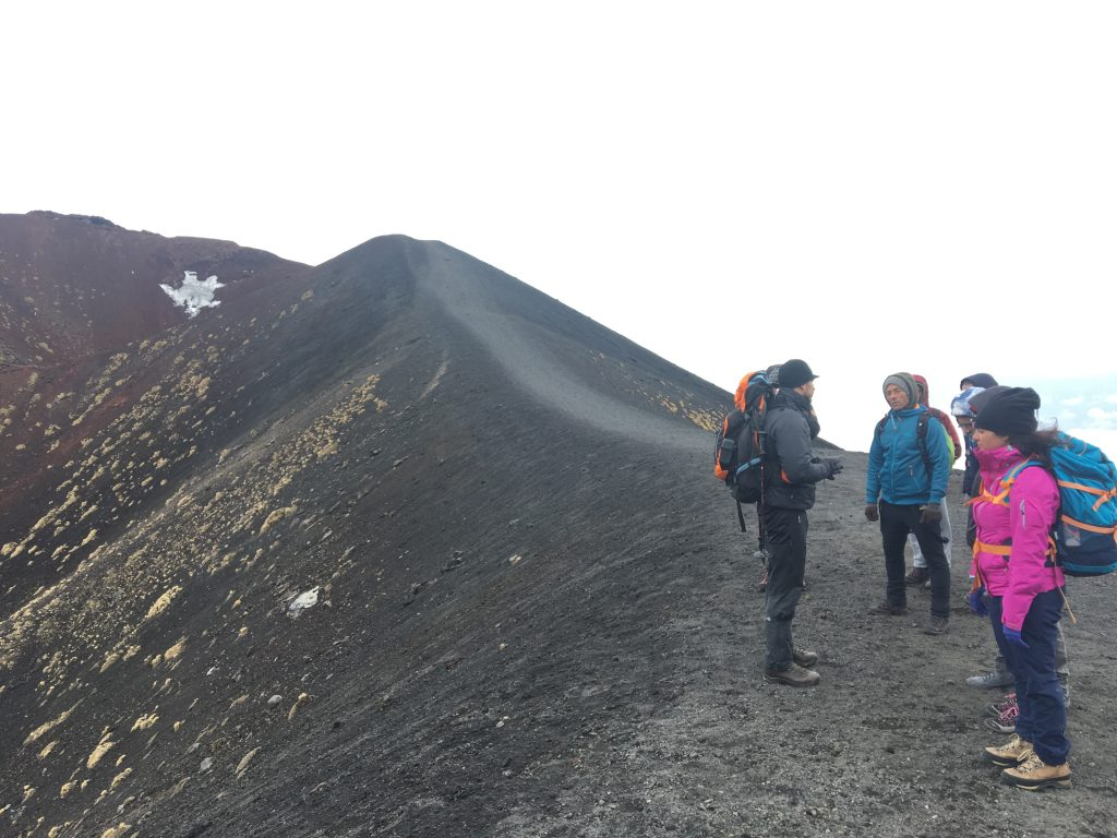 Etna Trekking during the full day tour