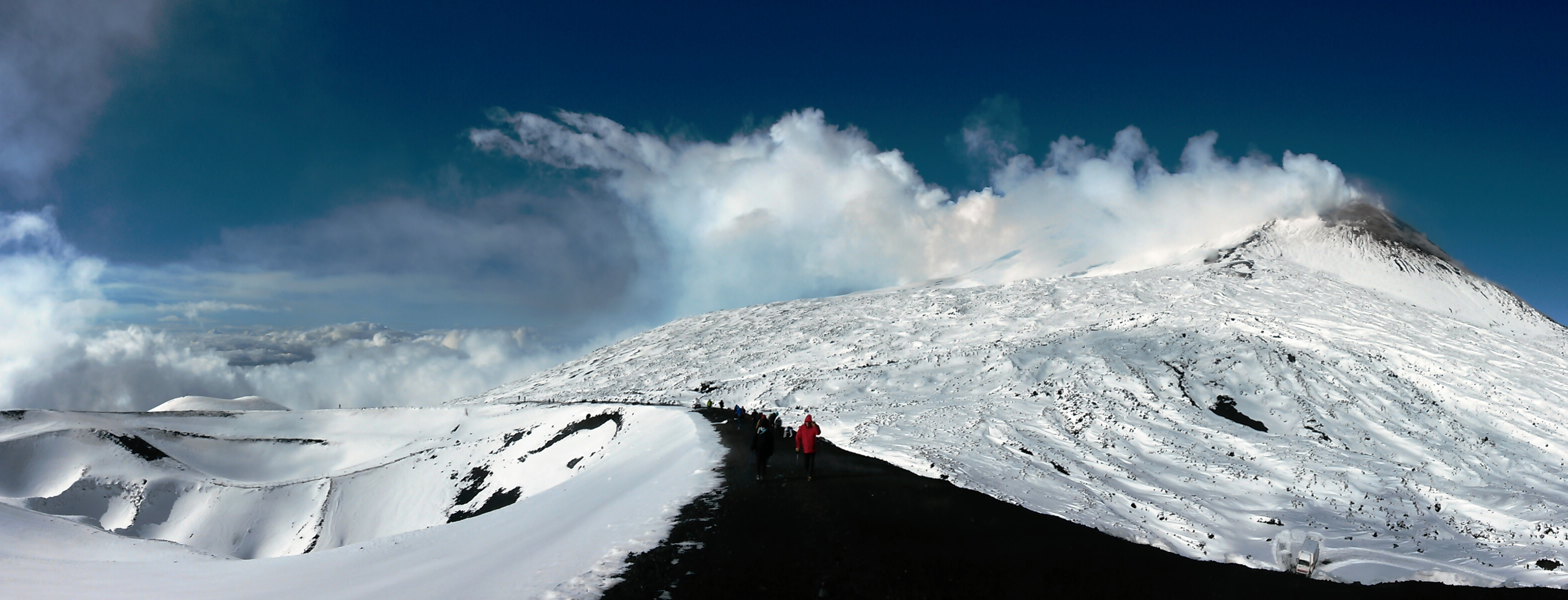 Mt Etna Winter Tour