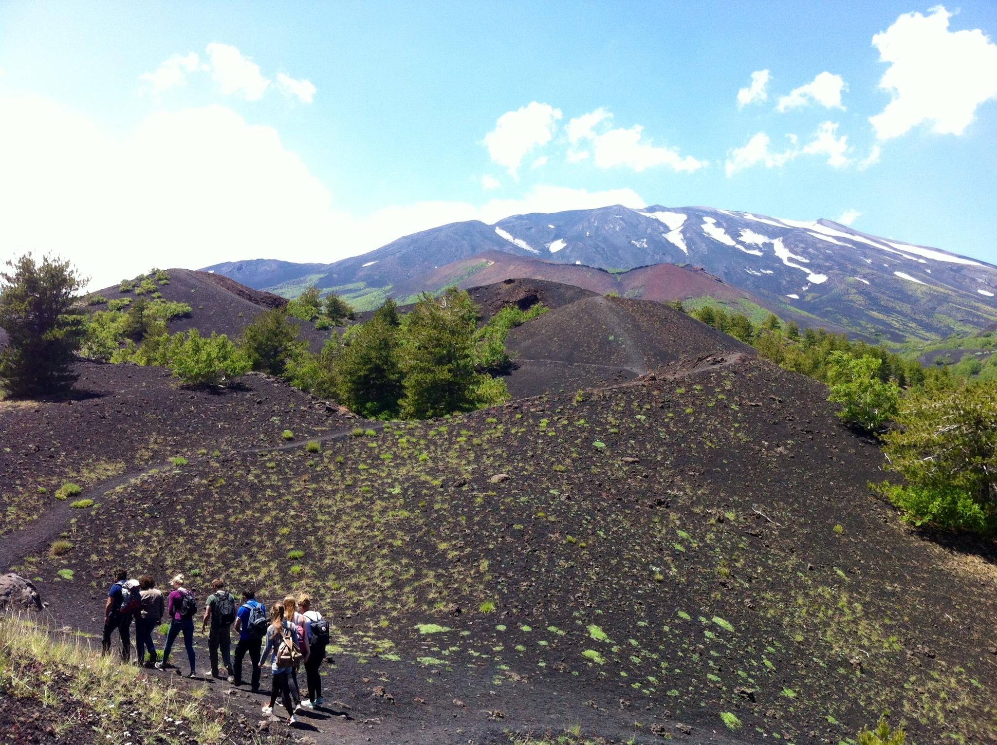 Mt Etna trekking