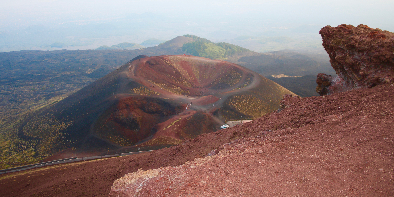 Crateri silvestri - Escursione Etna