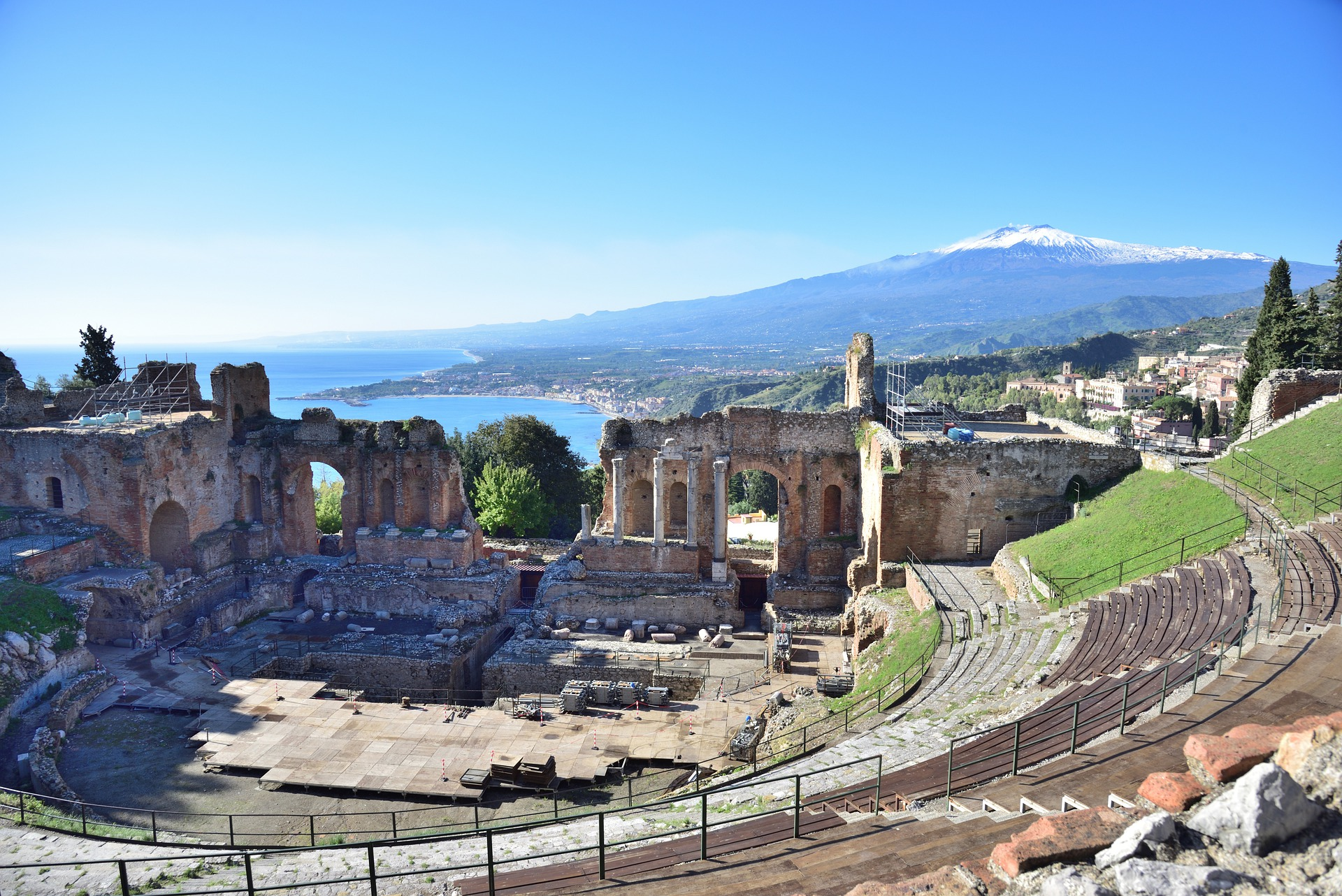 Mt Etna and Taormina