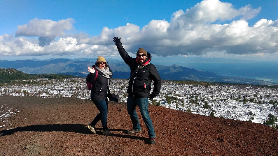 Mt Etna trekking tours from Catania