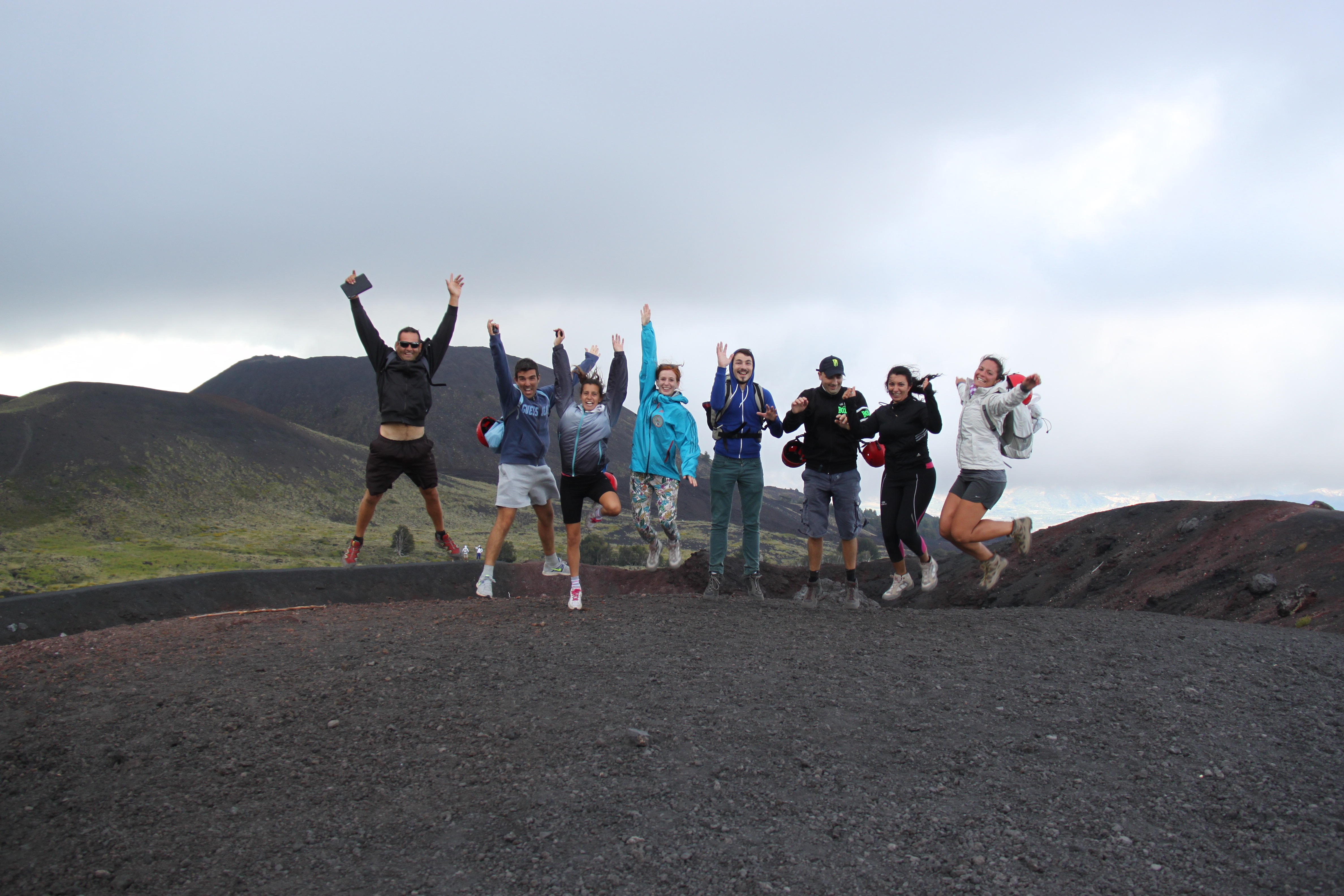 Small group tour on Mt Etna