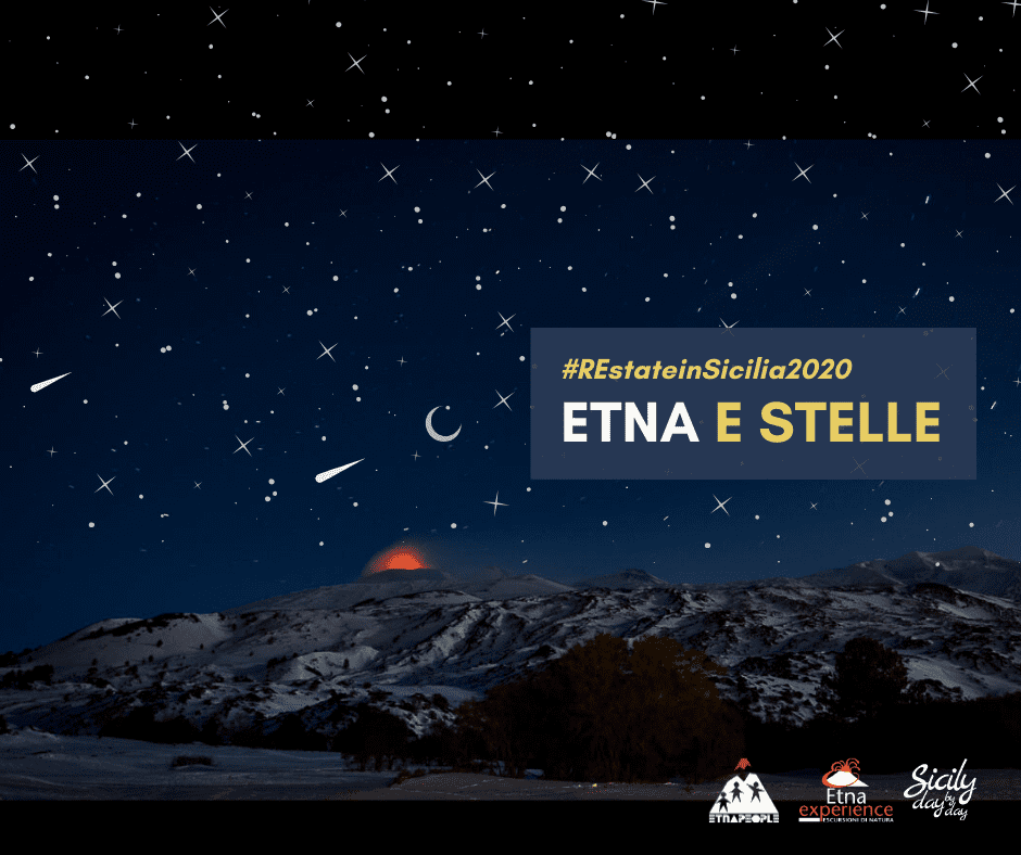 Etna di notte per ammirare le stelle