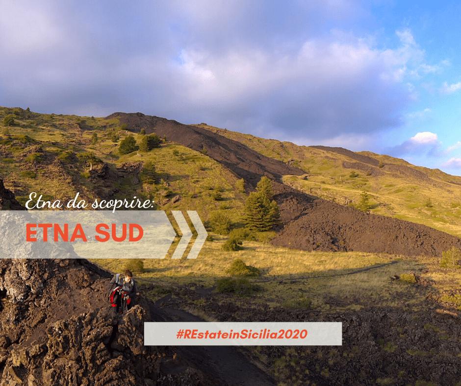 Il versante Sud dell'Etna
